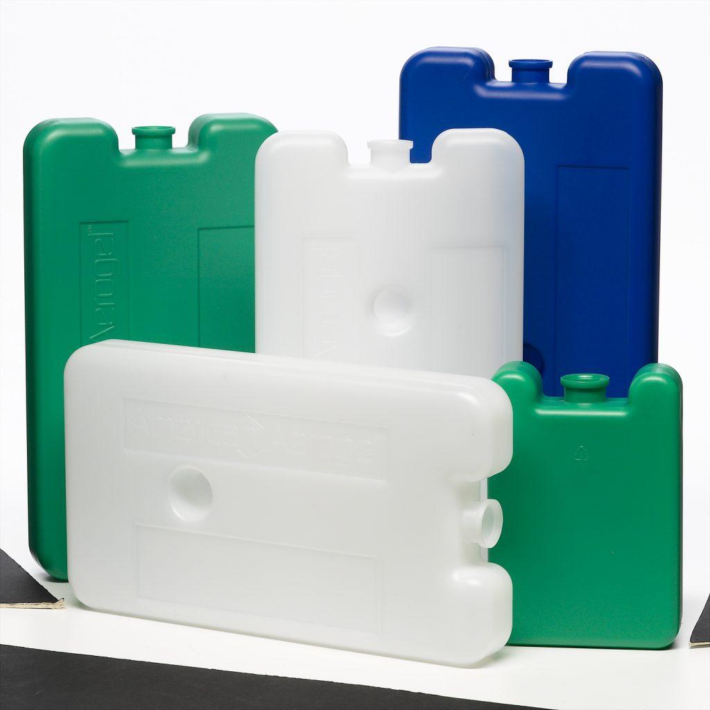 medical multicolored plastic ice packs
