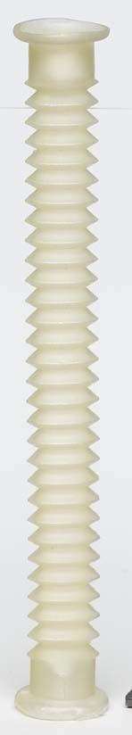 medical white plastic tubing