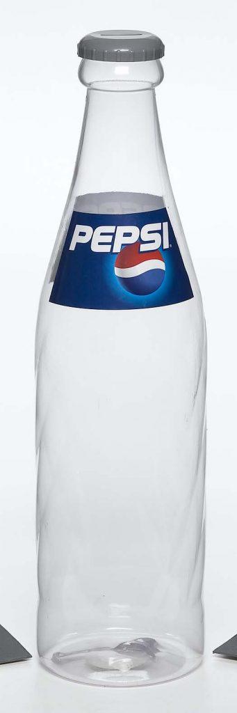 clear plastic Pepsi bottle food safe